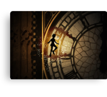 Peter Pan inspired design. Canvas Print