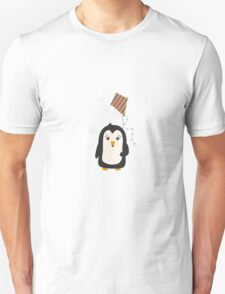 Penguin with Kite Unisex T-Shirt