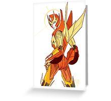 Rodimus Prime Greeting Card