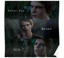 Robbie Kay/ Peter Pan Poster