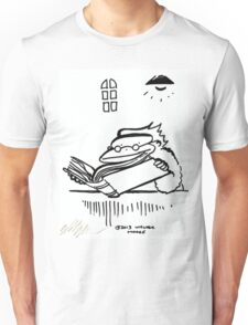 Scholarly Ape Reads Ancient Tome Unisex T-Shirt