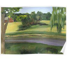 Bennington VT pond Poster