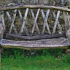 Rustic Bench by relayer51