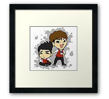 TOPP DOGG- Yano and Jenissi Framed Print