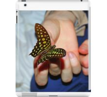 Butterfly catcher iPad Case/Skin
