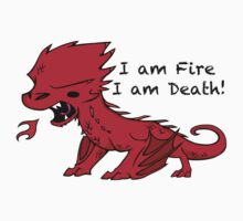 Baby Smaug - I am Fire, I am Death Kids Clothes