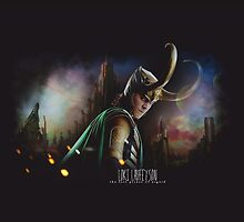 Loki Card and Phone Case by Niamh Wilson
