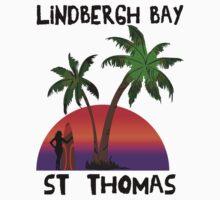 Lindbergh Bay St. Thomas Kids Tee