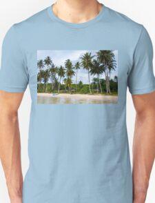 Beautiful tropical beach Unisex T-Shirt