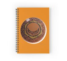 Sacral Chakra Solo Spiral Notebook