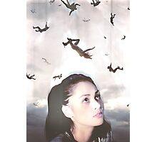 The 100 - Raven Photographic Print
