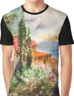 Italian landscape. Graphic T-Shirt