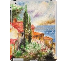 Italian landscape. iPad Case/Skin