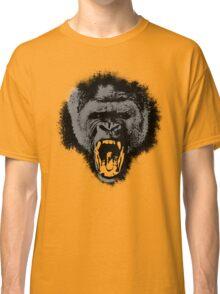 Silver Back Gorilla Scream Classic T-Shirt