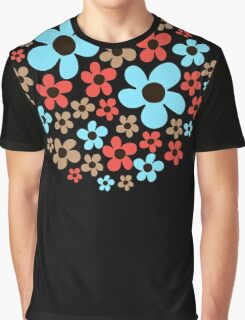 Floral pattern. Graphic T-Shirt