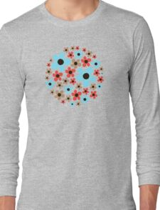 Floral pattern. Long Sleeve T-Shirt