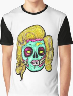Marilyn: Pop Art Zombie Graphic T-Shirt