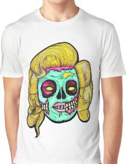 Marilyn: Pop Art Zombie Graphic T-Shirt
