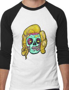 Marilyn: Pop Art Zombie Men's Baseball ¾ T-Shirt