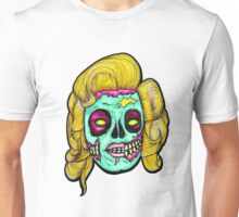 Marilyn: Pop Art Zombie Unisex T-Shirt