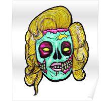 Marilyn: Pop Art Zombie Poster