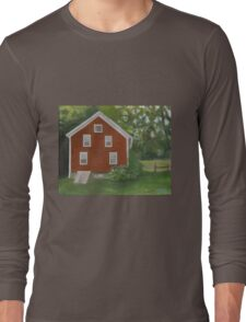 Vermont, red house Long Sleeve T-Shirt