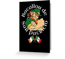 San Patricios Batallon Mexico Greeting Card
