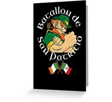 San Patricios Batallon Mexico Greeting Card