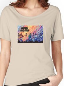Tame Impala Psychedelic Poster Women's Relaxed Fit T-Shirt