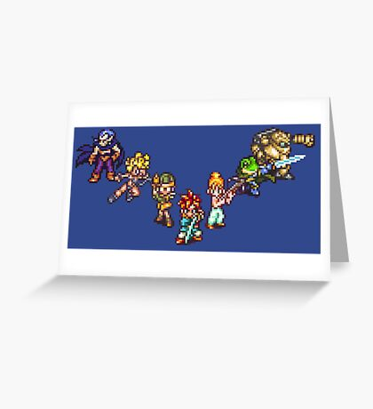 Chrono Trigger - The Team Greeting Card