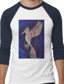 Rainbow Hawk Men's Baseball ¾ T-Shirt