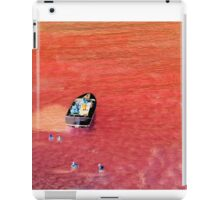 Blood red ocean iPad Case/Skin