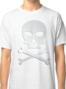 Skull with bones. Classic T-Shirt