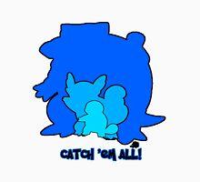 Pokemon Squirtle Wartortle Blastoise Catch em All! Unisex T-Shirt