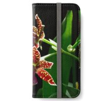 Backlit Orchid iPhone Wallet/Case/Skin