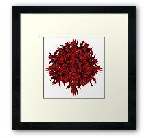 shoots | red Framed Print