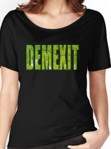 Demexit Women's Relaxed Fit T-Shirt