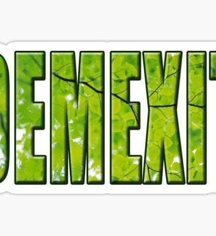 Demexit Sticker