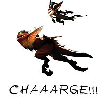 Kled - League of Legends : CHAAARGE !!! Photographic Print