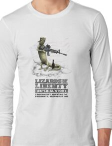 Lizards of Liberty Imperial Stout Long Sleeve T-Shirt