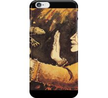 The Calming, watercolor, 1982 iPhone Case/Skin