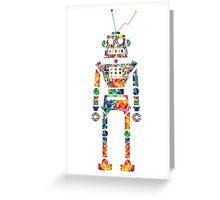 Robotix. Greeting Card