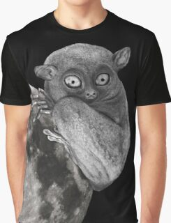 The Tarsius Who Reached His Light Source Graphic T-Shirt