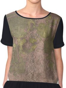 Vintage Map of The Moon (1961) 2 Chiffon Top