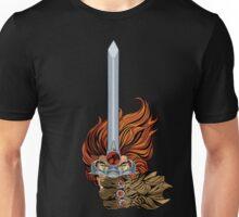 El guerrero león Unisex T-Shirt