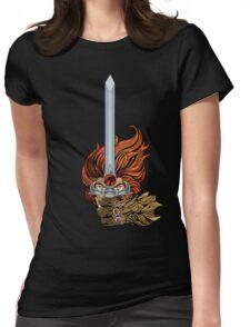 El guerrero león Womens Fitted T-Shirt