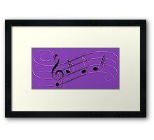 Music Music Music Framed Print