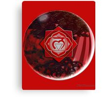 Root Chakra Solo Canvas Print