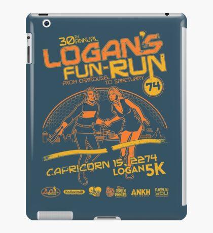 Logan's Fun-Run iPad Case/Skin