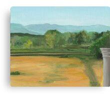 Bennington, pond view Canvas Print
